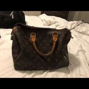 Authentic Louis Vuitton Speedy 30 plus wallet